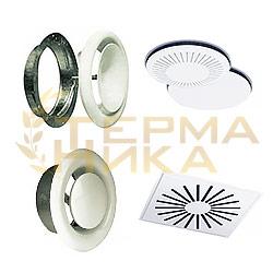 Диффузоры VS / VE / DLKA / DLKE / DLRA / DLRH / DLRE / DLRV / DLRZ / PLR / DZA / DZU