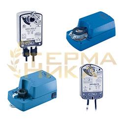 Электроприводы для воздушных заслонок и вентилей