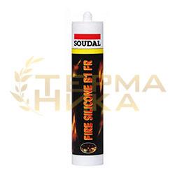 Огнестойкий силиконовый герметик