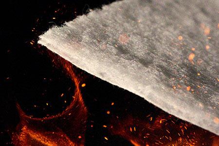 Аэрогель на основе холста из керамического волокна