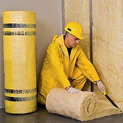 Основные этапы укладки рулонной теплоизоляции на стену