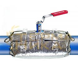 Термочехлы высокотемпературные теплоизоляционные быстросъемные