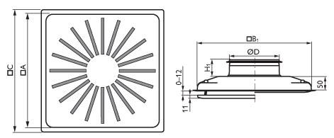 Диффузоры DLRV