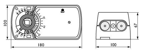 Электроприводы с моментом вращения 16 Нм с функцией Safety
