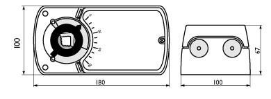 Электроприводы с моментом вращения 32 Нм