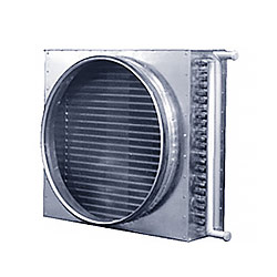 Канальные водяные теплообменники для круглых воздуховодов PBAHC