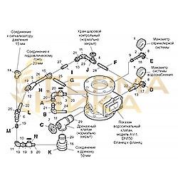 Обвязка к клапану AV-1