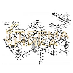 Обвязка к клапану DV-5 (сухая)