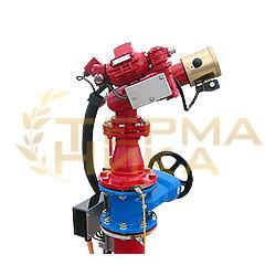 Лафетный ствол FJM-EL пожарный с дистанционным управлением